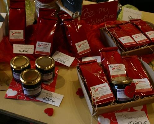 Geschenkset Valentinstag Gewürze Tee